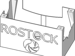 Rostock BI V1.0 Ramps Case