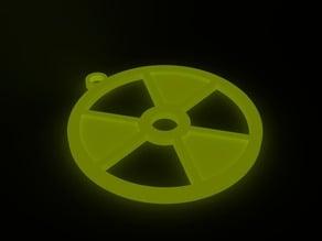 Radioactive Pendant/Keychain