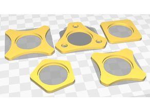tactical ring for Led Lenser T7, P7, P7R, B7.2, P7.2, T7.2