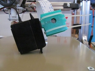 Raspberry Pi Camera Case with Servo Mount