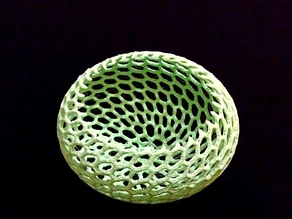 Vornoi-style Tea Light Holder