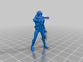 Clone Commander Legion Scale