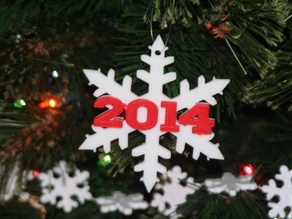 Another 2014 Snowflake Christmas Ornament