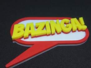 Bazinga! speech bubble