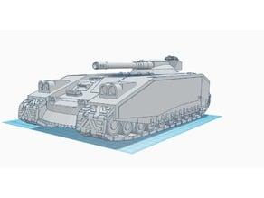 Scimitar, Prototype Warhammer 40K Main Battle Tank