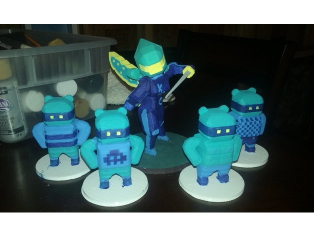 Killer Queen (Arcade) Minis by osvg - Thingiverse