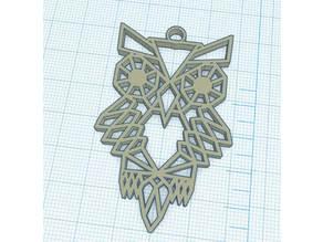 Geometric Owl - Chouette Géométrique