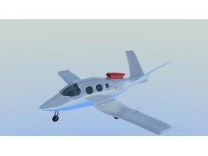 Cirrus vision sf-50 jet