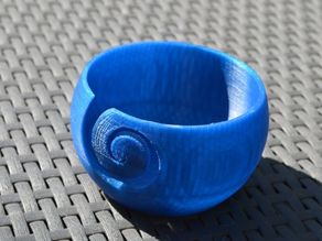 Spiral Yarn Bowl