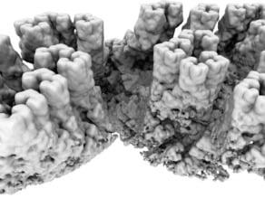 Fractal Cliffs
