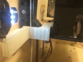 Replicator Bed Level Camera Mount
