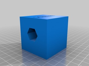 Cube Test printing calibration 50mm