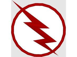 """Black Flash Logo From The CW`s """"The Flash"""""""