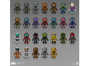 Make your own Doom Collectable Figures