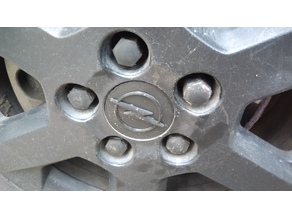 Center Cap Opel Astra
