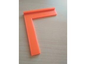 Square measuring  90 - Úhelník příložný 90