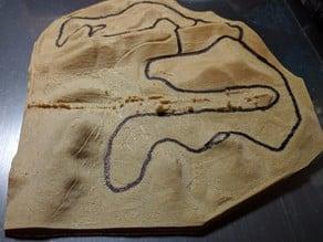 Thunderhill Raceway Elevation Model