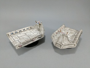 Sci-fi Cargo Sled