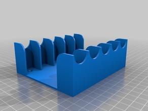 My Customized Parametric altoids storage rack