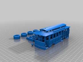 Trolley/Cable car Duplo