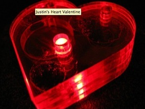 LED Valentine Heart