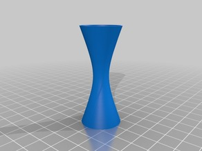 simple hyperboloid standing cup