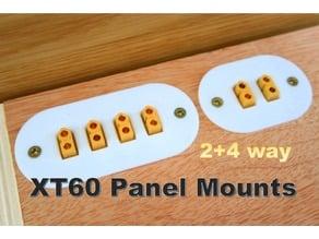 XT60 Panel Mounts