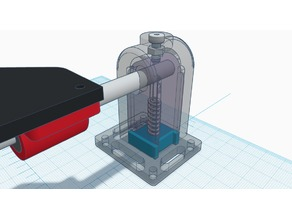 Y-Axis Rail Rod Mounts with Integrated Leveling