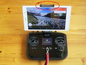 3DR Solo  tablet holder for Sony Xperia Z3