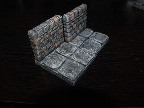 OpenForge Stone Dungeon Edge Walls