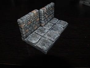 OpenForge Stone Dungeon Edge Walls