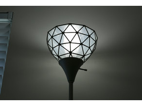 Geodesic Lamp Shade