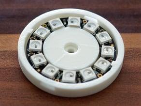 Adafruit NeoPixel Ring 12 Leds Fitting