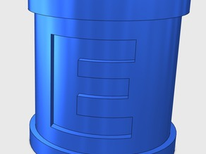 Mega Man E Tank Cup Holder