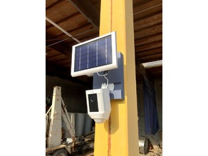 Ring Camera Mount and Solar Panel Magnetic Base