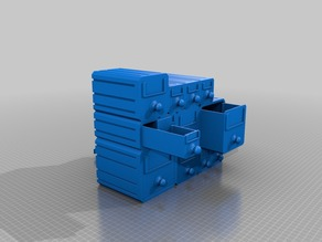 Modular Interlocking Drawers