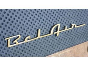 Bel Air - Chevy 57 - Emblem