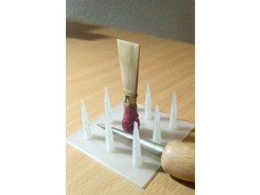 Drying rack for Baroque Bassoon reeds