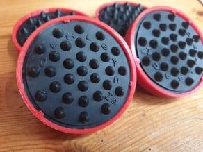 Anycubic I3 Mega / Mega-S Anti Vibration Feet (Click-In)