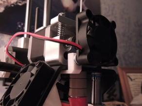 Printrbot Simple Metal fan holder for extruder