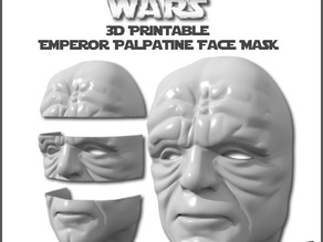 Emperor Palpatine Face Mask