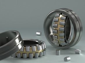 Spherical Roller Bearing created in PARTsolutions