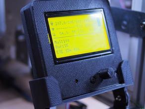 adjustable mount for Sainsmart 12864 LCD Display