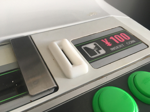 Coin Entry SEGA ASTRO CITY