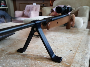 Pellet Pod - Clamp on bipod for air guns with 15mm barrel