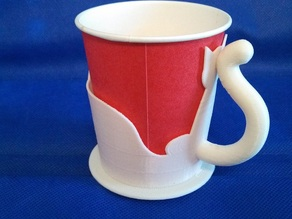 (V2)Cat type 7 oz paper cup holder