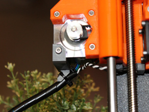 Prusa i3 Mk2 Strain Relief for X Motor