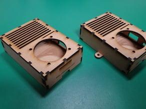 Laser Cut Raspberry Pi2/3 Case