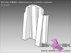 SYMA X5SC horizontal camera mount