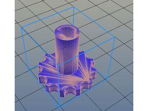 knob for extruder 3d printer